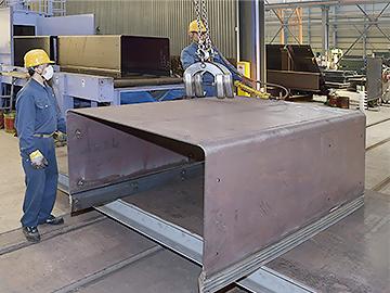 鋼構造物工事 杉本鉄工